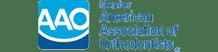 AAo Logo at Britto Orthodontics in Chantilly and Woodbridge VA
