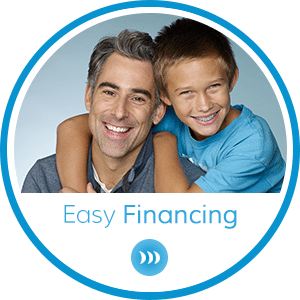 Easy Financing Horizontal Button at Britto Orthodontics in Chantilly and Woodbridge VA