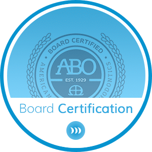 Board Certification Hover at Britto Orthodontics in Chantilly and Woodbridge VA