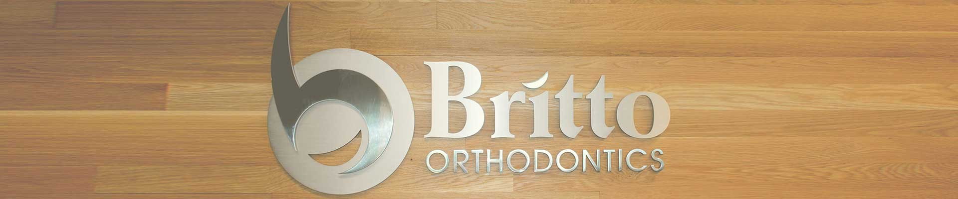 Logo Britto Orthodontics Chantilly Woodbridge VA
