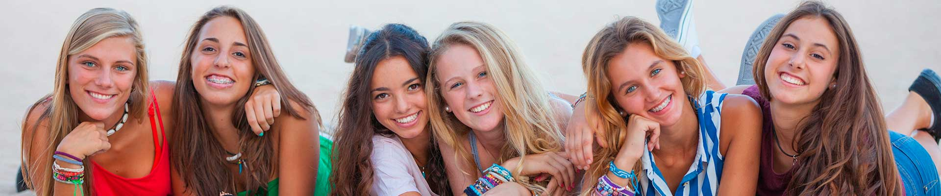 Teens with Braces Britto Orthodontics Chantilly Woodbridge VA